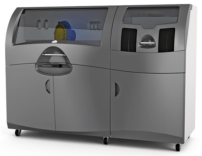 A première vue, la Projet 660 n'a que peu de choses en commun avec les imprimantes 3Dgrand public comme les MakerBot Replicator, par exemple.