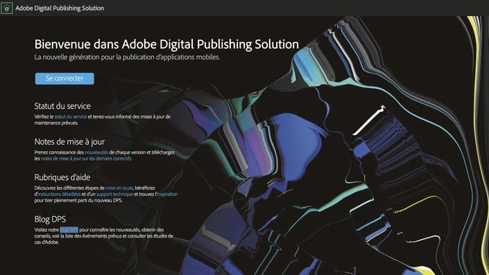 Le nouveau portail Adobe Digital Publishing Solution, à ne pas confondre avec la Digital Publishing Suite…