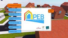 Sensibilisation à la PEB par le biais du serious game pour Construform® et IFAPME®.