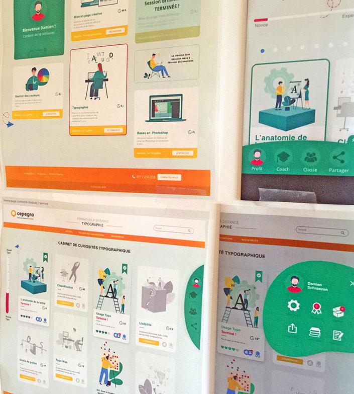 Concevoir pour les émotions, la partie UI (user interface).