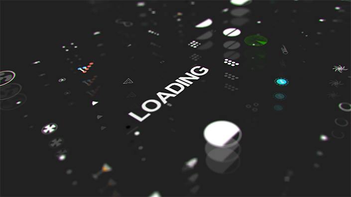 After Effects Loading & Transition